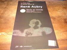 RENE AUBRY - PUBLICITE SEULS AU MONDE !!!!!!!!!!!!!!!