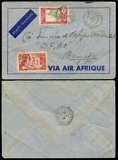 FRENCH COLONIES NIGER 1939 AIRMAIL to BAMAKO...AIR AFRIQUE