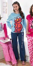 NEW Superior Quality Girls Sesame Street ELMO Pyjamas Set 11-12 yrs PJs