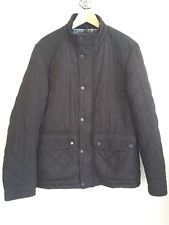 NEXT Mens Black Diamond Quilted Jacket. Size Medium. To Fit Chest 39-41 inch