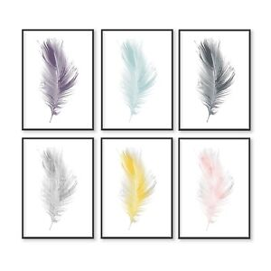 Feather Print, Feather Wall Art, Print Wall Art, Feather, Wall Print