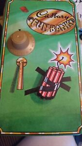 Vintage 90's Tin Cadburys Funbank Fun Bank Rare