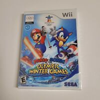 'Mario & Sonic at the Olympic Winter Games' Wii Video Game (2007) Sealed NEW