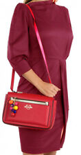 NEWT AUTH LOVE MOSCHINO JC4108PP17LM0500 RED ECO  LEATHER SHOULDER BAG W  POUCH
