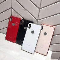 Thin Hard Back PC Shockproof Case For iPhone 11 Pro Max XS Max XR X 8 7 6s Plus