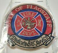 "/""New Style/"" 4.5/"" x 3.75/"" size fire patch City of Yuma  Fire Dept Arizona"