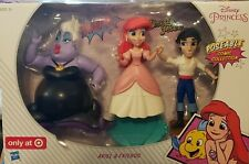 Disney Princess Poseable Comic Collection: Ariel & Friends Eric Ursula - RETIRED