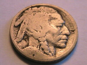1914-S Buffalo Nickel Nice About Good (G) Original Tone Indian Head 5C USA Coin