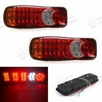 40 Led Truck Rear Tail Light Lorry Fits Mitsubishi Fuso Canter 2X 12v