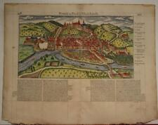 JOINVILLE-LE-PONT FRANCE 1575 BELLEFOREST ANTIQUE WOODCUT VIEW FRENCH EDITION