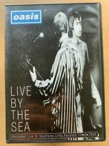 Oasis Live by the Sea DVD 2001 Live Concert Gig Britpop Rock Music