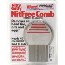 Nitty Gritty Comb Clears Head Lice Nits & Eggs No Itchy Scalp NitFree