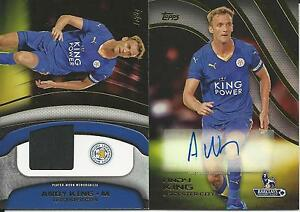 2015 TOPPS PREMIER GOLD ANDY KING AUTOGRAPH & JERSEY RELIC CARD COMBO