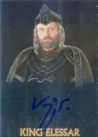 Lord of the Rings Trilogy Chrome Viggo Mortensen as King Elessar Autograph Card