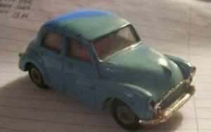 Spot-On Morris Minor 1000 blue used