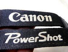 Canon PowerShot SX GX Digital Camera Neck Shoulder Strap Black Genuine
