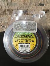 Cortland Kerplunk Lead Core Deep Trolling Line 27 Lb Test 100 Yards