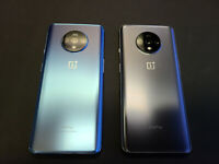 Mint / Great OnePlus 7T GSM Unlocked HD1907 8GB RAM Blue or Silver 128GB + More