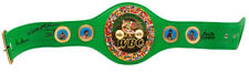 Roberto Duran+Thomas Hearns+Sugar Ray Leonard Signed Full Size Replica Belt BAS