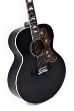 SIGMA Gitarre GJM-SG200 BK+ + Fishman Soniton SIGMA GUITARS JUMBO-FORM *NEU/NEW*