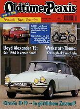Oldtimer Praxis 4 96 1996 BMW R 60 Citroën ID 19 Express 250 MAG Opel Blitz