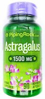 1500mg Astragalus Root 10:1 Extract 90 Capsules Natural Non GMO Gluten Free