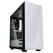 Kolink Stronghold Midi Tower Tempered Glass, weiß, PC-Gehäuse, ATX, USB