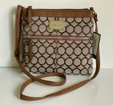 NEW! NINE WEST ENCINO TOBACCO BROWN CROSSBODY MESSENGER SLING BAG PURSE SALE