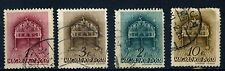 1939 four Crown of St. Stephen & four Churchs used
