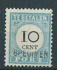 1881TG  Nederland Portzegel  P7 SPECIMEN, postfris mooie zegel.