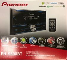 Pioneer FH-S500BT CD RDS Receiver AUX / USB / BLUETOOTH NEW
