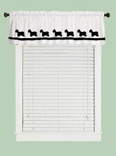 Cesky Terrier Dog Window Valance Curtain .Your Choice of Colors*