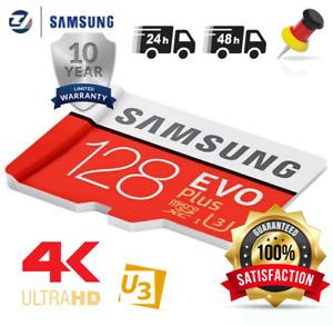 Samsung Evo Plus 128GB (2021) Micro SD XC Speicherkarte Class10 UHS-I U3 mit Ad.