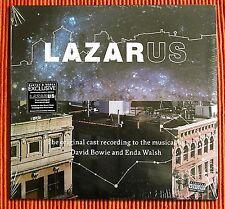 DAVID BOWIE - LAZARUS Original New York Cast 3LP White Vinyl Ltd Edition  SEALED