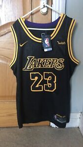 #23 LeBron James Lakers Jersey Mamba Edition (Medium)