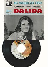 DALIDA- EP- MADE IN FRANCE- CHANTE 4 TITRES IN DEUTSCHE- DAS MADCHEN VON PIRAUS+