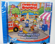 Fisher-Price - Little People Songs About Your Neighborhood 18 Track CD 2002 NEW!