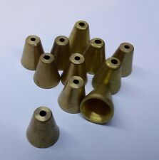10 x Brass Cone Slip in - Small + you an 11th for Free.