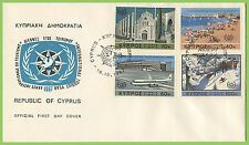 First Day of Issue Cypriot Stamps (1960-Now)
