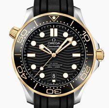 Omega Seamaster Diver 300M Ref#210.22.42.20.01.002 Black Wave Watch 42mm