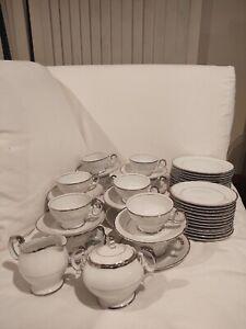 Harmony House Silver Sonata 50 Piece Tea Luncheon Set