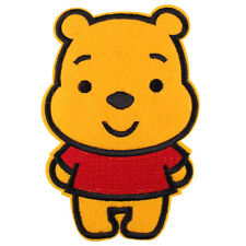 """The Winnie the Pooh Bear Huge Embroidered Iron/Sew ON Patch 5.9""""X 3.8"""""""