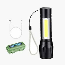 New listing Weight: About 80g Box LED Torch USB Cable Camping Hiking Lamp Flashlight LED