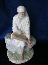 LLADRO SAI BABA BRAND NEW IN BOX #8707 LARGE HINDUISM SAVE$$ FREE SHIPPING