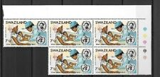Swaziland - 1973 anniversary of WHO - 7 1/2c  mint stamps - see scan