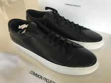 COMMON PROJECTS MENS ACHILLES BLACK WHITE SOLE US 11 EUR 44 Style 1658 BNIB