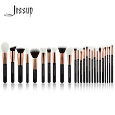 UK Jessup Professional 25Pcs Makeup Up Brush Set Face Powder Eyeliner Rose Gold