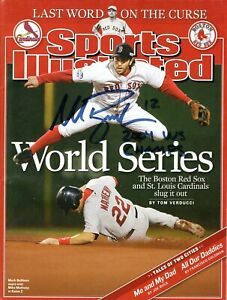 Mark Bellhorn Autographed 2004 World Series Sports Illustrated W/ 04 Champs Insc