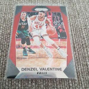 2017-18 Panini Prizm RUBY WAVE PRIZM REFRACTOR - Denzel Valentine