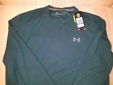 New mens Under Armour Infrared shirt long sleeved MSRP $50 Turquoise